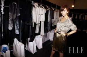 Kim Nam Joo for Elle
